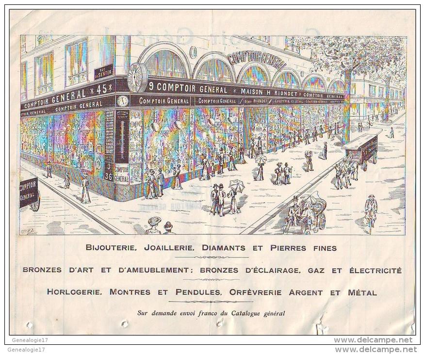 """Le Comptoir Général"" parduotuvės originalus reklaminis bukletas."