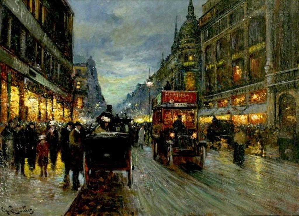 Dailininkas Charles Courcelles 19 a. Paryžius