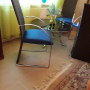 Modernios mėlynos kėdės KE-6 2