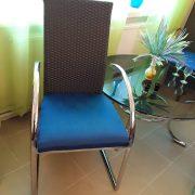 Modernios mėlynos kėdės KE-6 4