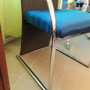 Modernios mėlynos kėdės KE-6 5