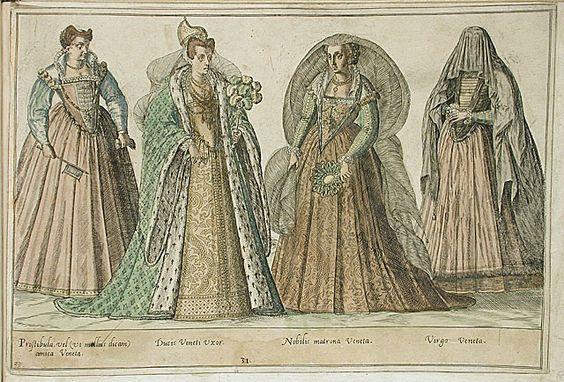 Venecijos damos (1540 – 1587 metai)