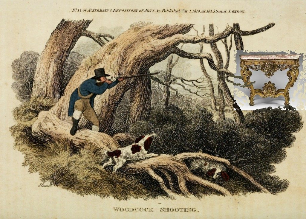 1810-antique-hunting-scene-woodcock-1024x735