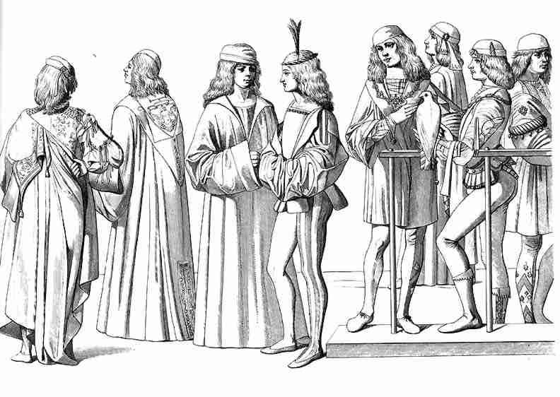 Venecijos vyrų apranga (15 amžius)