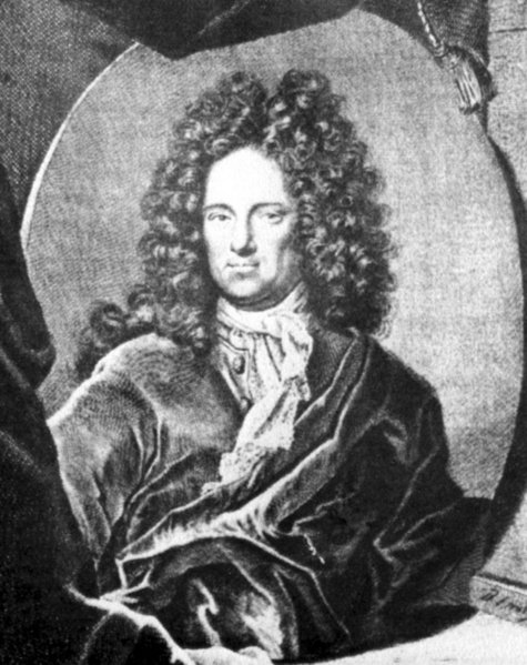 Ehrenfried Walther von Tschirnhaus 1708 metai