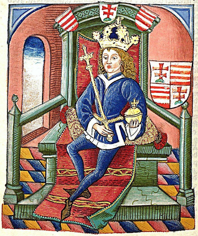 Luisas I arba Luisas Didysis Vengrijos, Kroatijos ir Lenkijos karalius, 14 amžius.