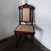 Antikvarinės ąžuolinės kėdės KD-15 1