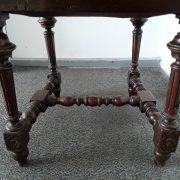 Antikvarinės ąžuolinės kėdės KD-15 10
