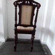 Antikvarinės ąžuolinės kėdės KD-15 12