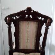 Antikvarinės ąžuolinės kėdės KD-15 13