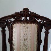 Antikvarinės ąžuolinės kėdės KD-15 3