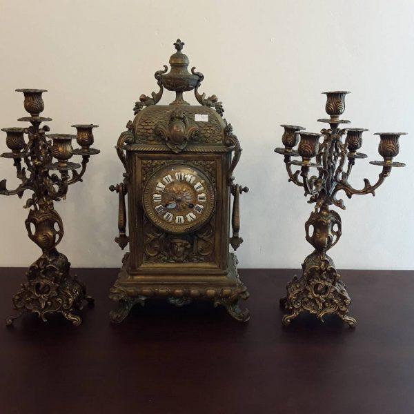 Laikrodis su žvakidės LK-2 1